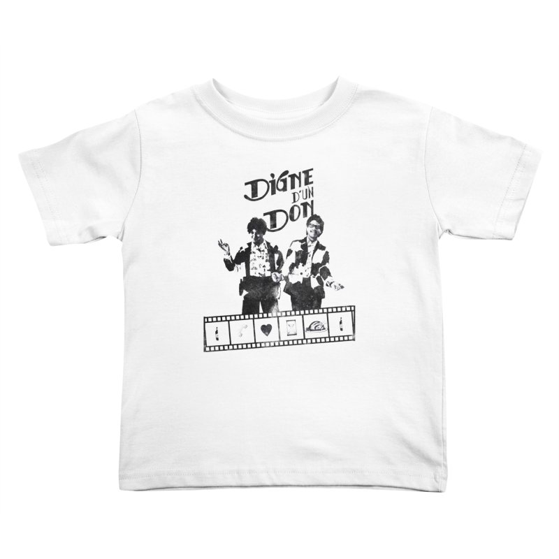 Ding et Dong Kids Toddler T-Shirt by Chaudaille