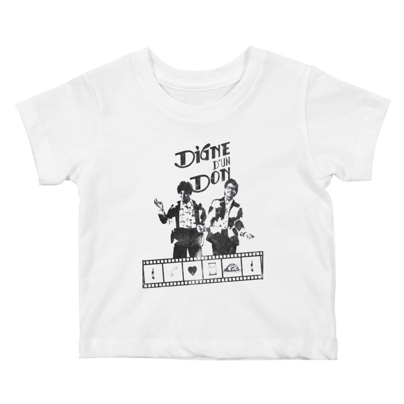 Ding et Dong Kids Baby T-Shirt by Chaudaille