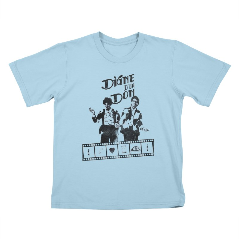 Ding et Dong Kids T-Shirt by Chaudaille