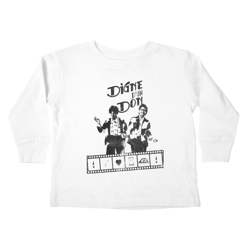 Ding et Dong Kids Toddler Longsleeve T-Shirt by Chaudaille