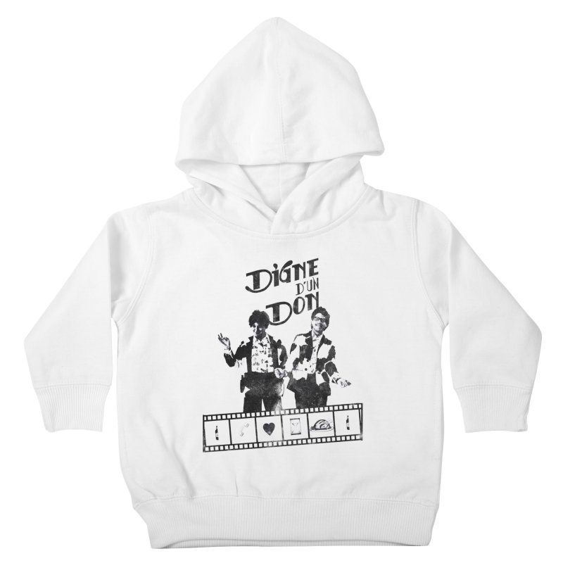 Ding et Dong Kids Toddler Pullover Hoody by Chaudaille