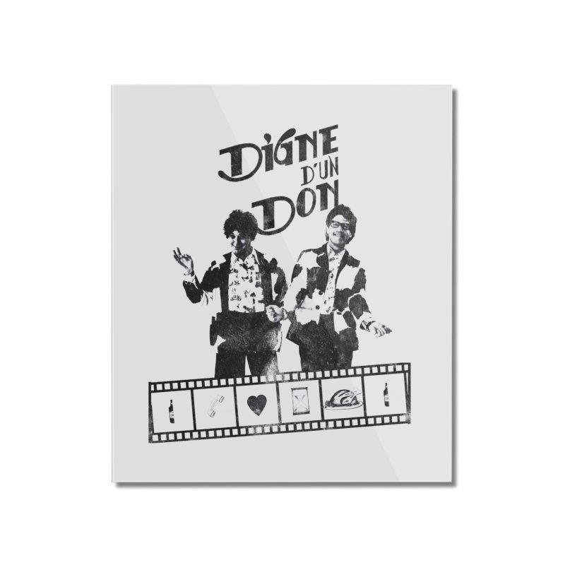 Ding et Dong Home Mounted Acrylic Print by Chaudaille