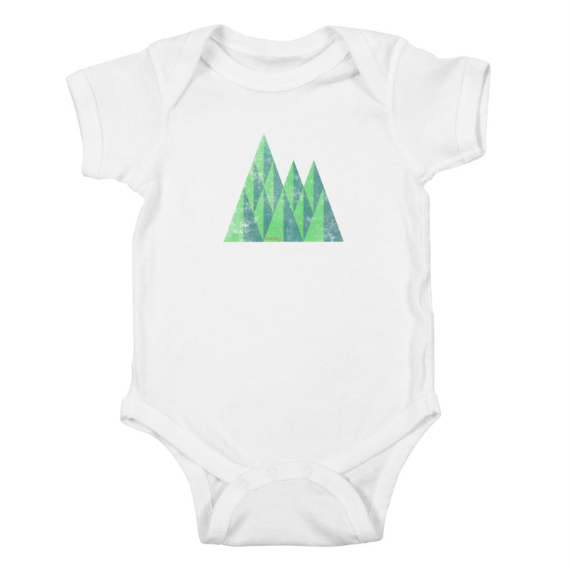 Art Expo 67 Kids Baby Bodysuit by Chaudaille