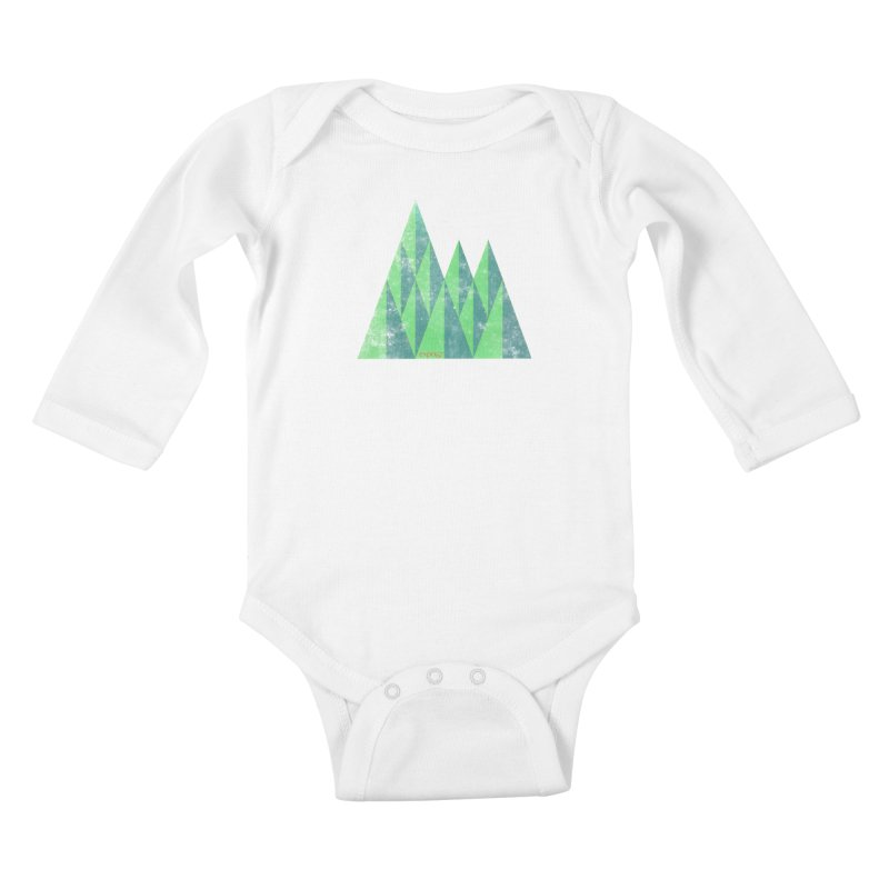 Art Expo 67 Kids Baby Longsleeve Bodysuit by Chaudaille
