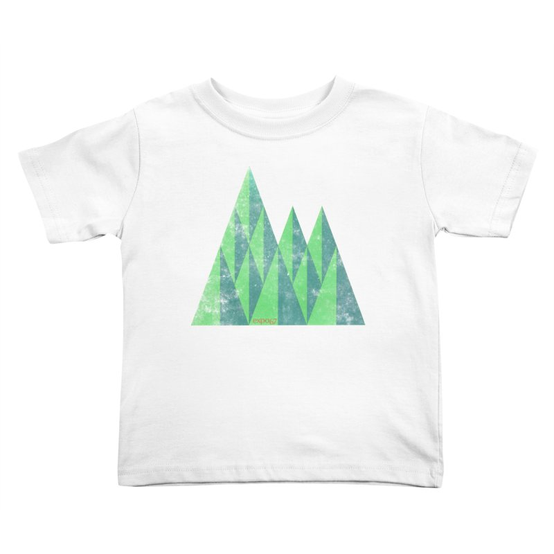 Art Expo 67 Kids Toddler T-Shirt by Chaudaille