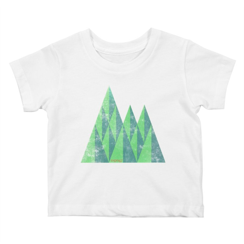 Art Expo 67 Kids Baby T-Shirt by Chaudaille