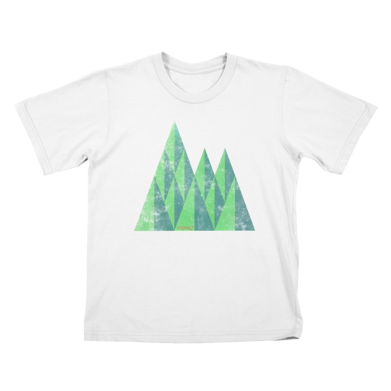Art Expo 67 Kids T-Shirt by Chaudaille