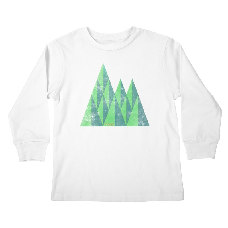 Art Expo 67 Kids Longsleeve T-Shirt by Chaudaille