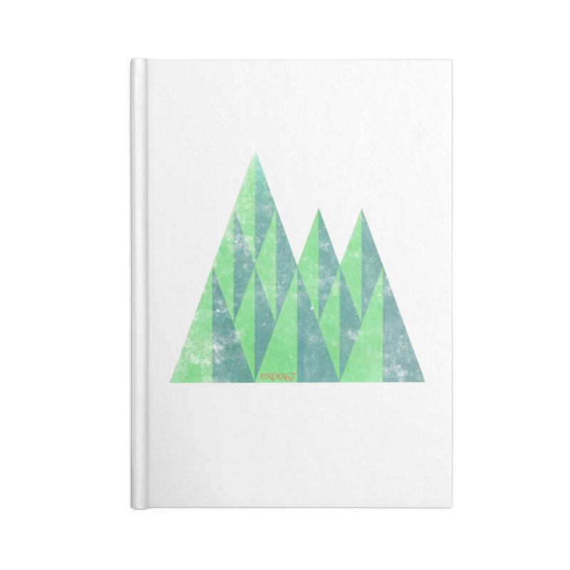Art Expo 67 Accessories Blank Journal Notebook by Chaudaille