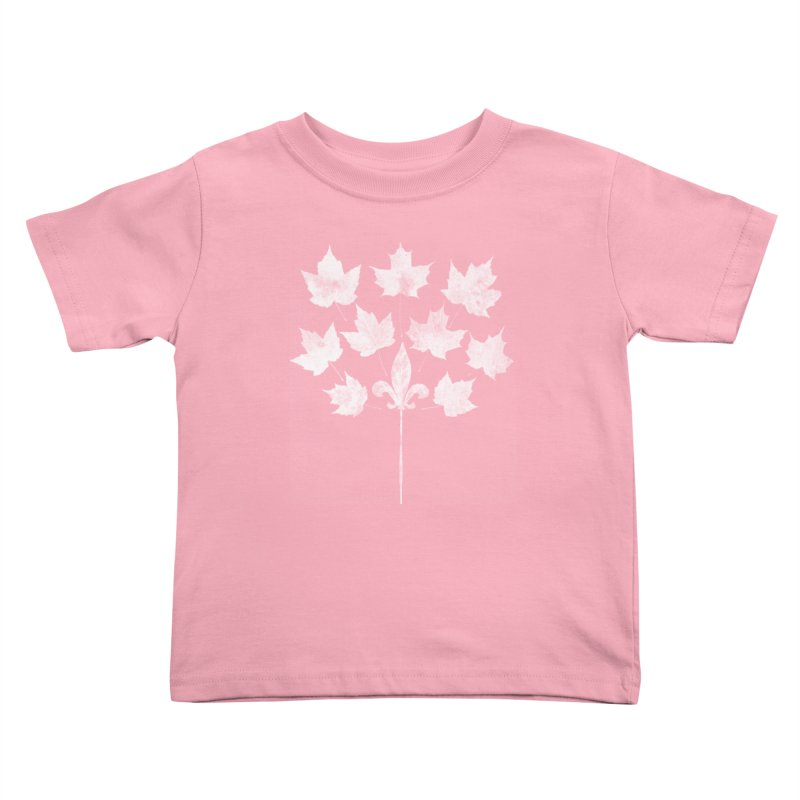L'Érable et le Lys Kids Toddler T-Shirt by Chaudaille