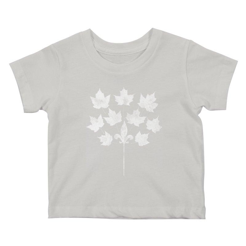 L'Érable et le Lys Kids Baby T-Shirt by Chaudaille