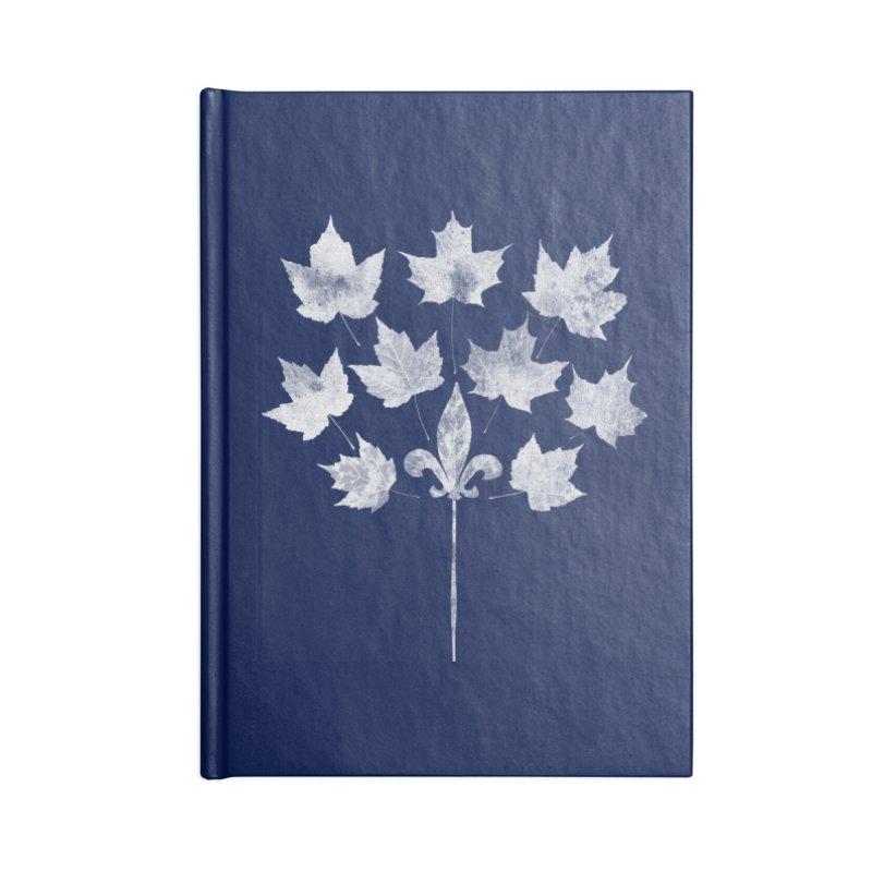 L'Érable et le Lys Accessories Blank Journal Notebook by Chaudaille
