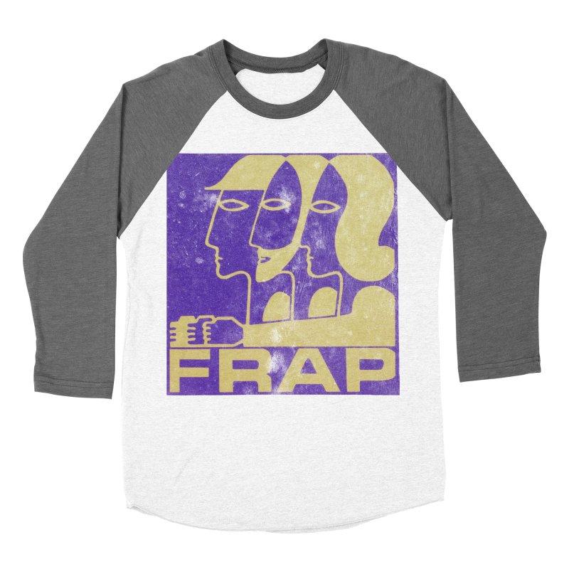 FRAP Women's Baseball Triblend Longsleeve T-Shirt by Chaudaille