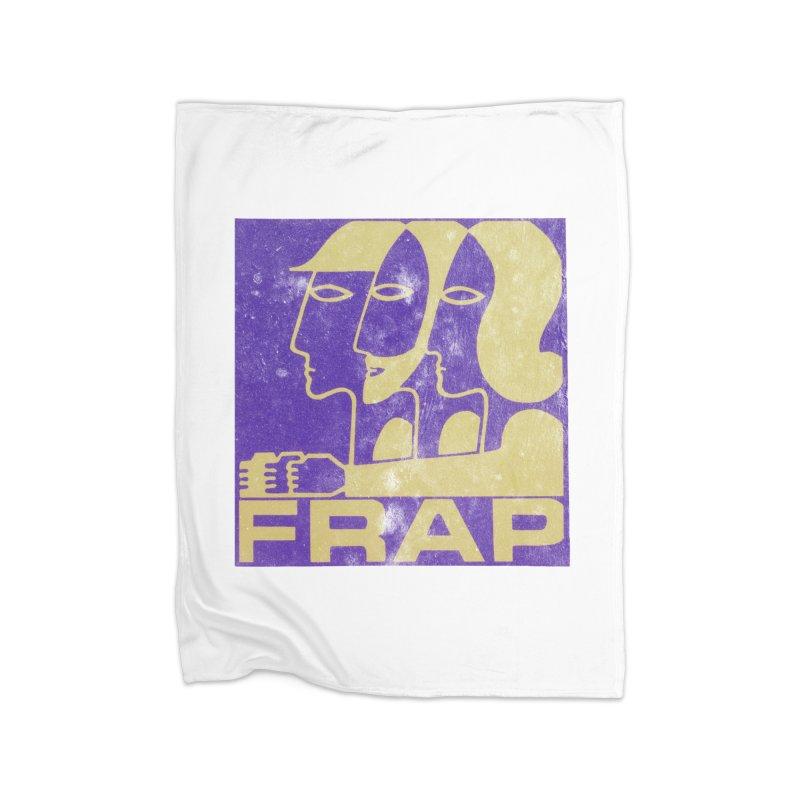 FRAP Home Fleece Blanket Blanket by Chaudaille