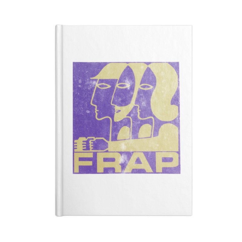 FRAP Accessories Blank Journal Notebook by Chaudaille