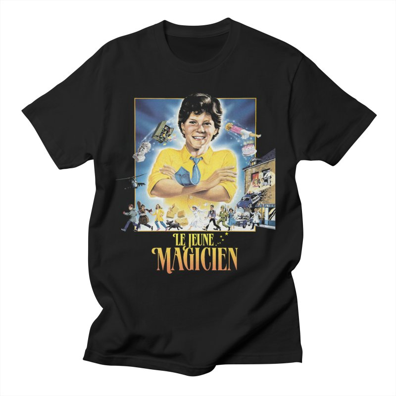 Le Jeune Magicien Men's T-Shirt by Chaudaille