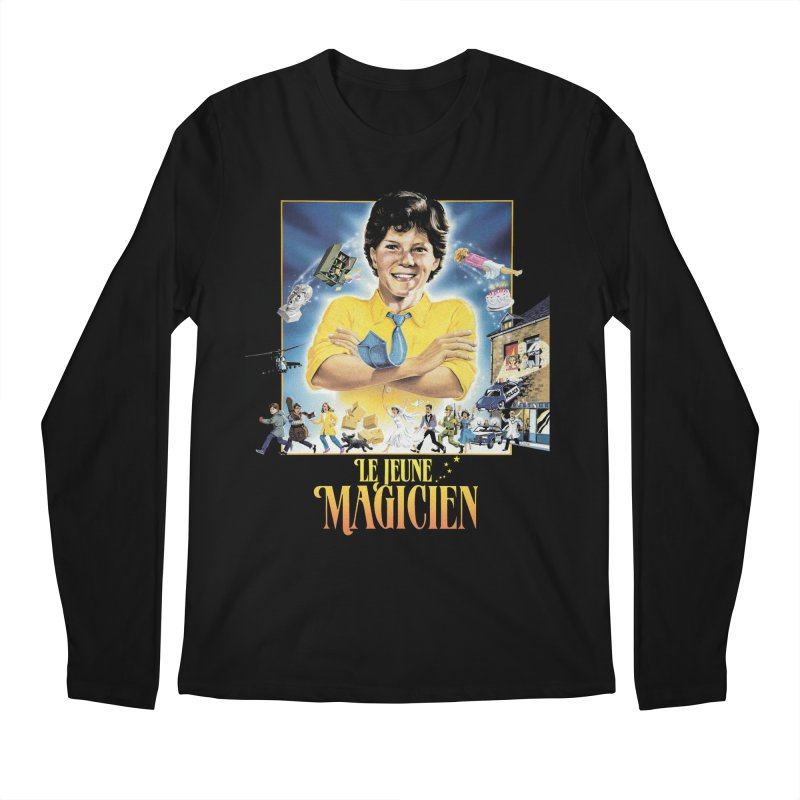 Le Jeune Magicien Men's Longsleeve T-Shirt by Chaudaille