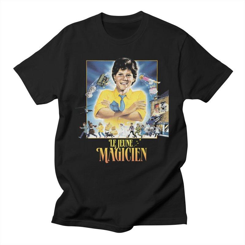 Le Jeune Magicien Women's Regular Unisex T-Shirt by Chaudaille
