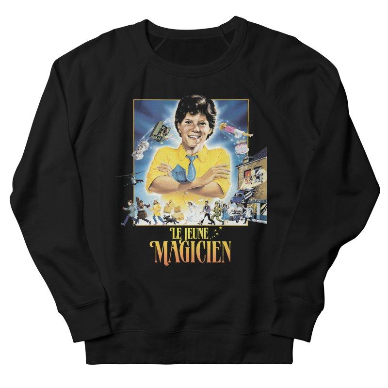 Le Jeune Magicien Men's French Terry Sweatshirt by Chaudaille