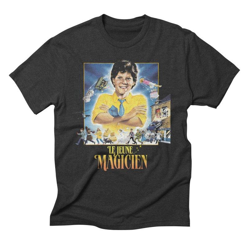 Le Jeune Magicien Men's Triblend T-Shirt by Chaudaille