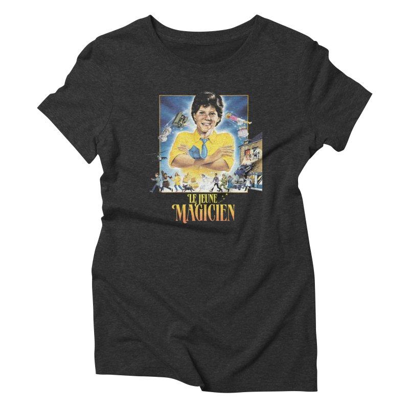 Le Jeune Magicien Women's T-Shirt by Chaudaille