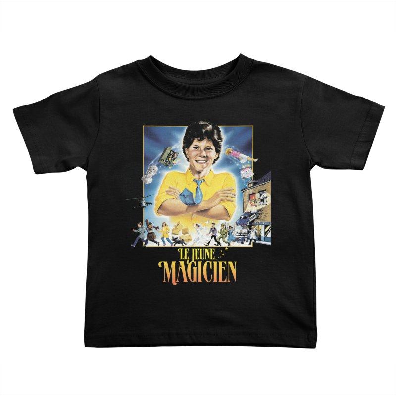 Le Jeune Magicien Kids Toddler T-Shirt by Chaudaille