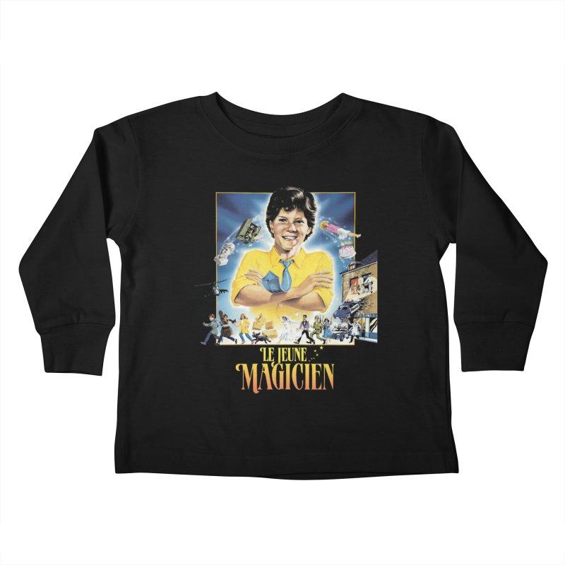 Le Jeune Magicien Kids Toddler Longsleeve T-Shirt by Chaudaille