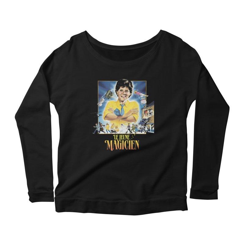 Le Jeune Magicien Women's Scoop Neck Longsleeve T-Shirt by Chaudaille