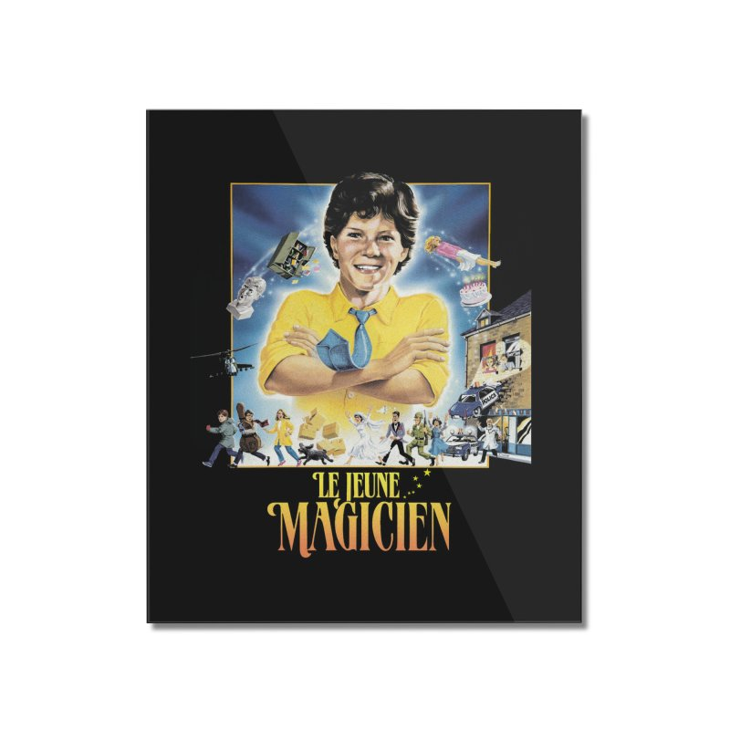 Le Jeune Magicien Home Mounted Acrylic Print by Chaudaille