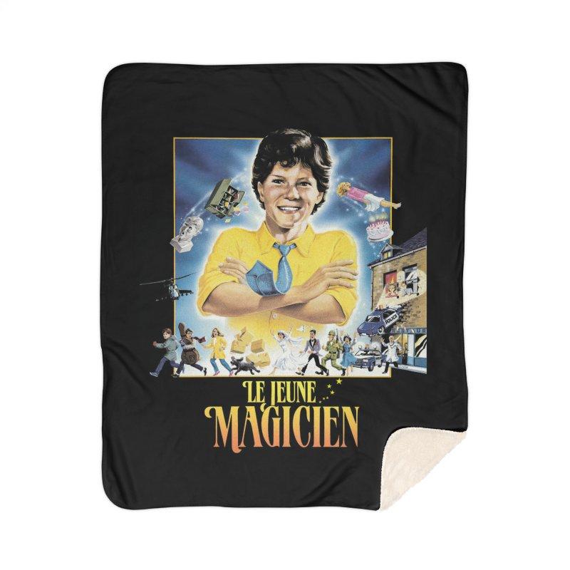 Le Jeune Magicien Home Blanket by Chaudaille