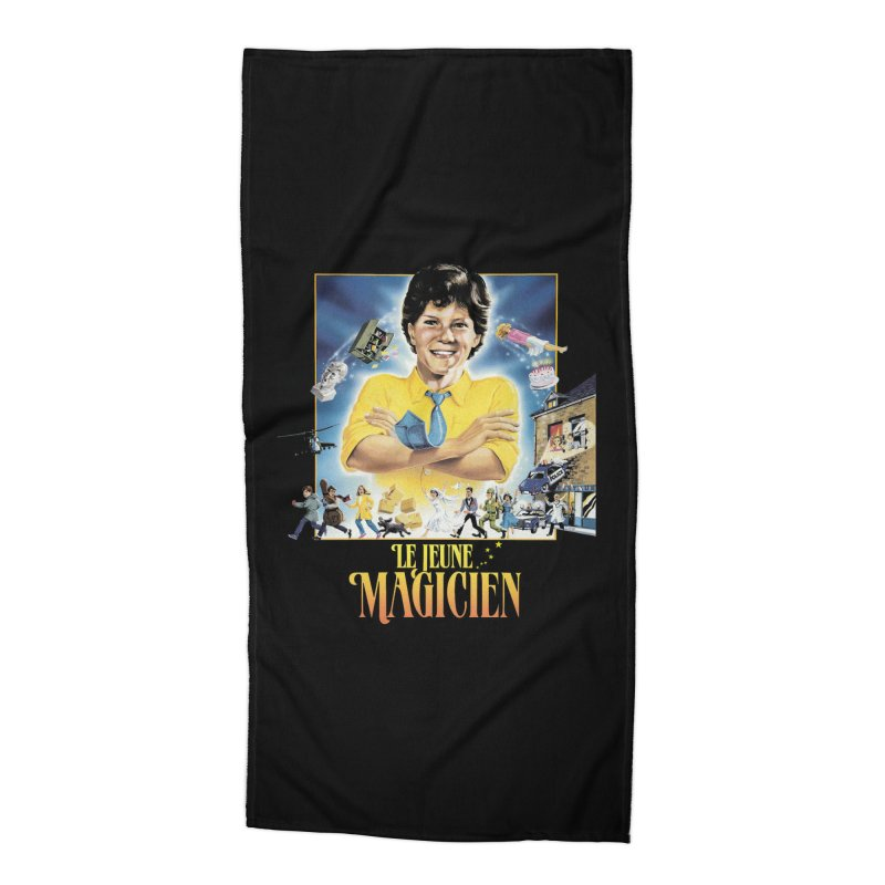 Le Jeune Magicien Accessories Beach Towel by Chaudaille