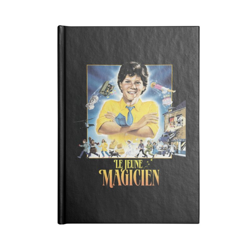 Le Jeune Magicien Accessories Lined Journal Notebook by Chaudaille
