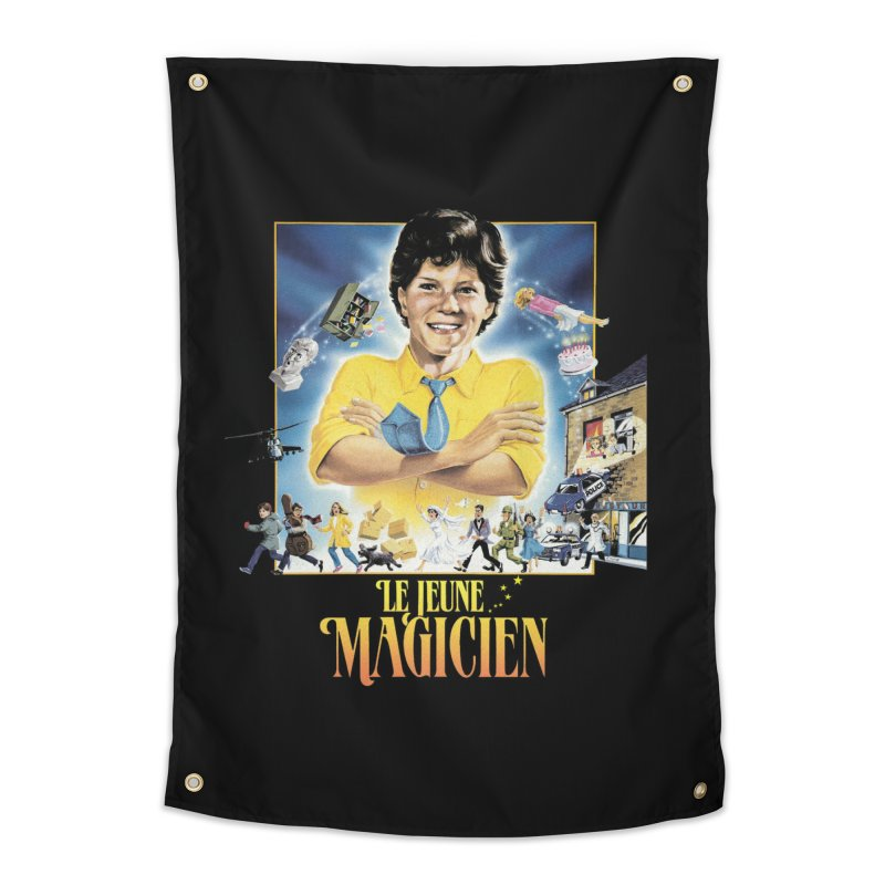 Le Jeune Magicien Home Tapestry by Chaudaille