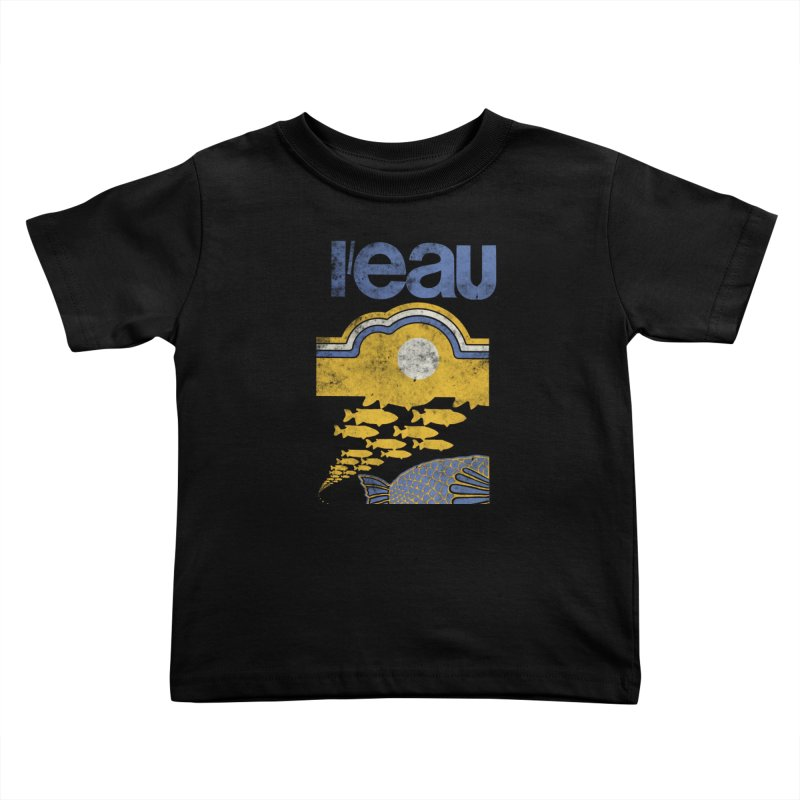 L'eau Kids Toddler T-Shirt by Chaudaille