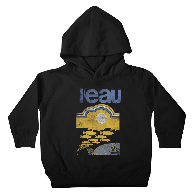 L'eau Kids Toddler Pullover Hoody by Chaudaille