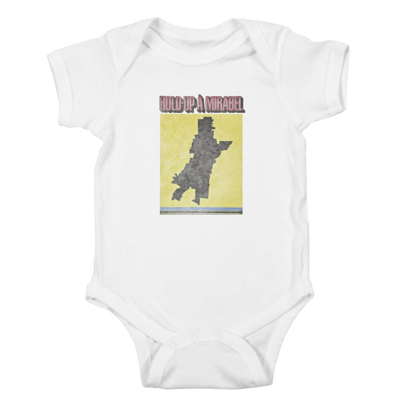 Hold Up à Mirabel Kids Baby Bodysuit by Chaudaille