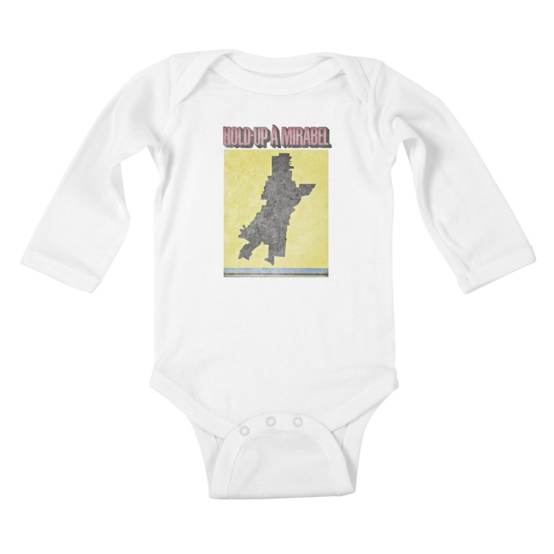 Hold Up à Mirabel Kids Baby Longsleeve Bodysuit by Chaudaille