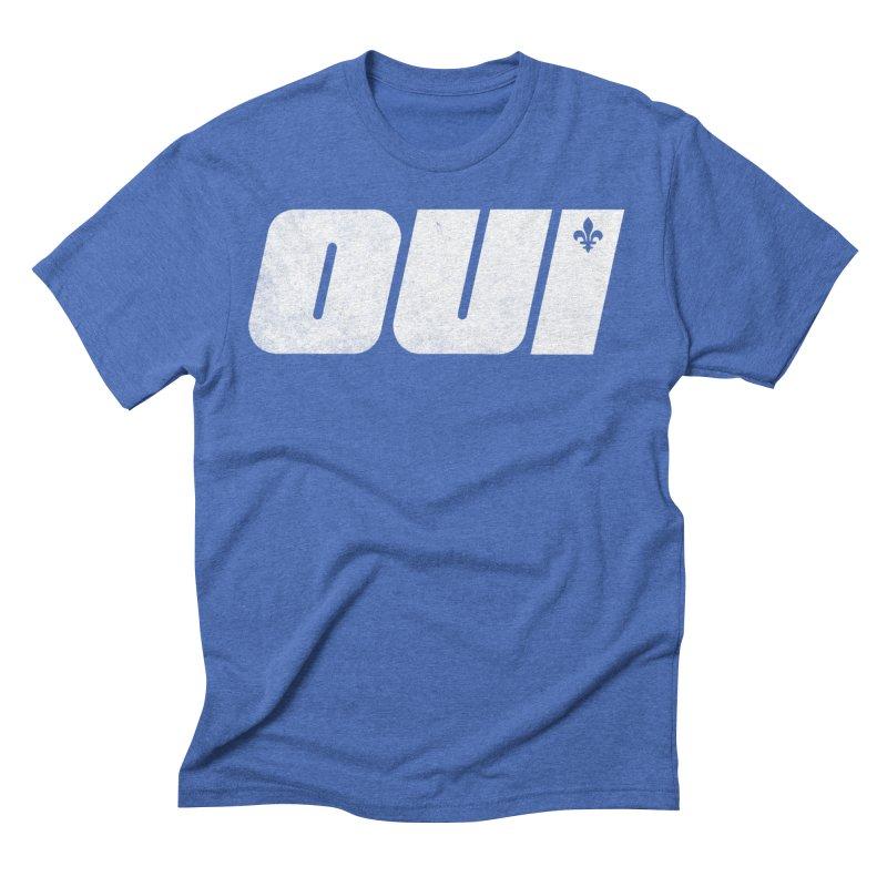 Oui Men's T-Shirt by Chaudaille