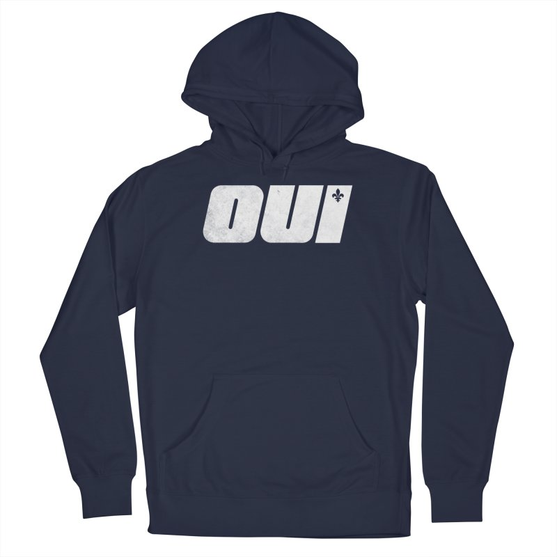 Oui Men's Pullover Hoody by Chaudaille