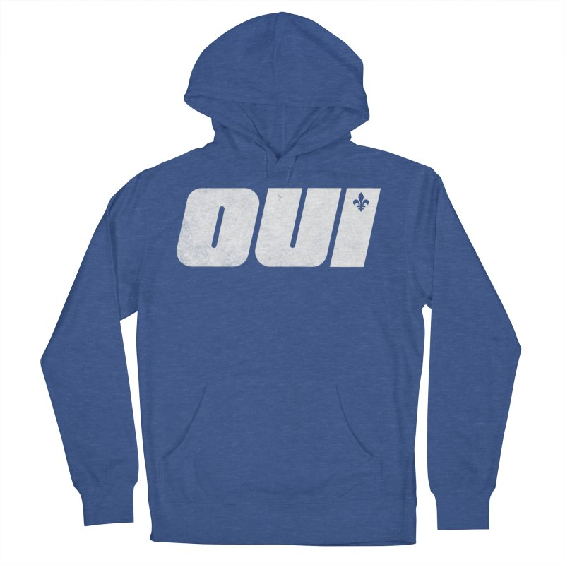 Oui Women's French Terry Pullover Hoody by Chaudaille