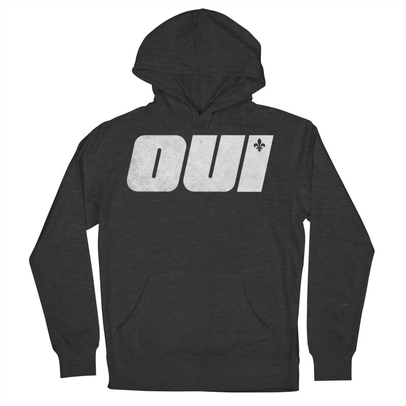Oui Men's French Terry Pullover Hoody by Chaudaille