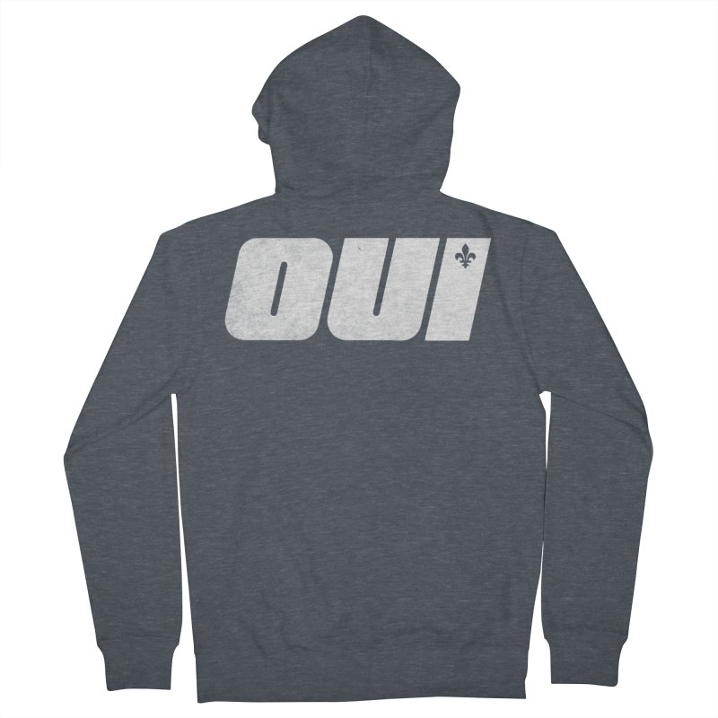 Oui Women's French Terry Zip-Up Hoody by Chaudaille