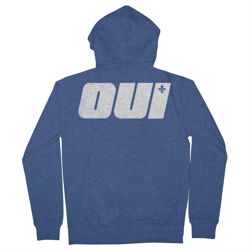 Oui Men's French Terry Zip-Up Hoody by Chaudaille