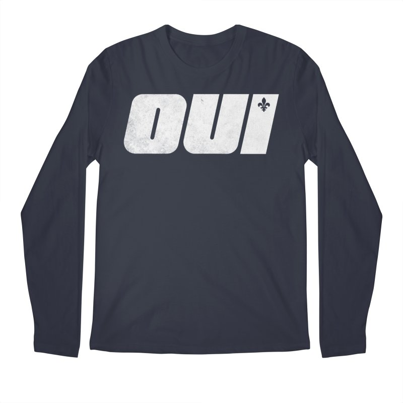 Oui Men's Regular Longsleeve T-Shirt by Chaudaille
