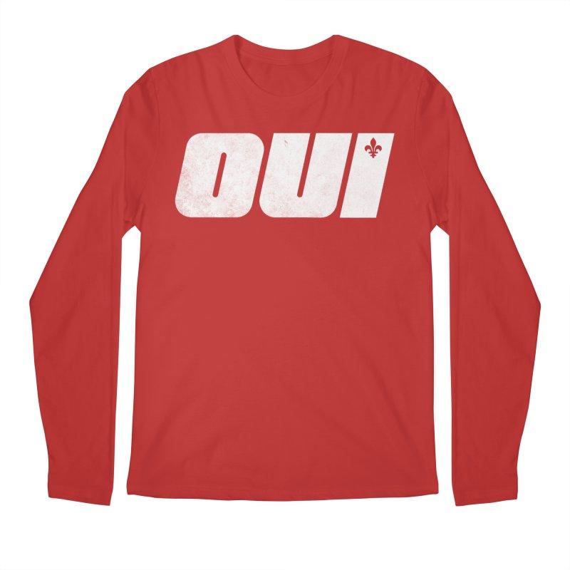 Oui Men's Regular Longsleeve T-Shirt by Chaudaille