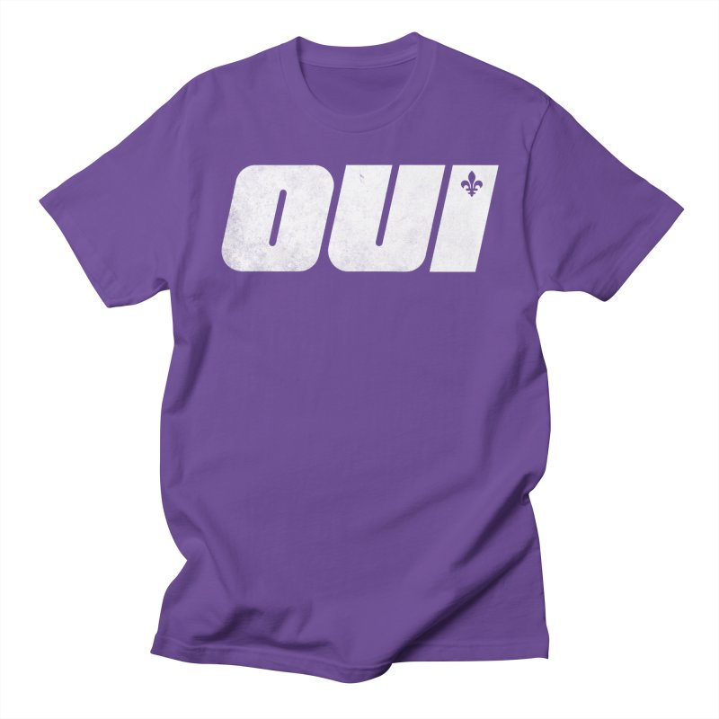 Oui Women's Regular Unisex T-Shirt by Chaudaille