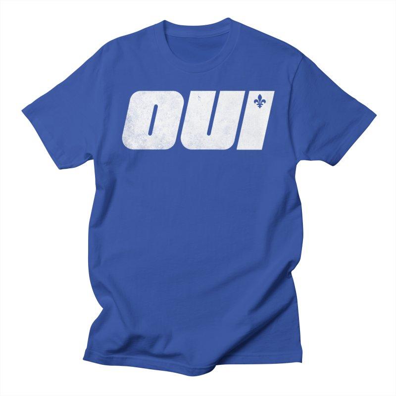 Oui Men's Regular T-Shirt by Chaudaille