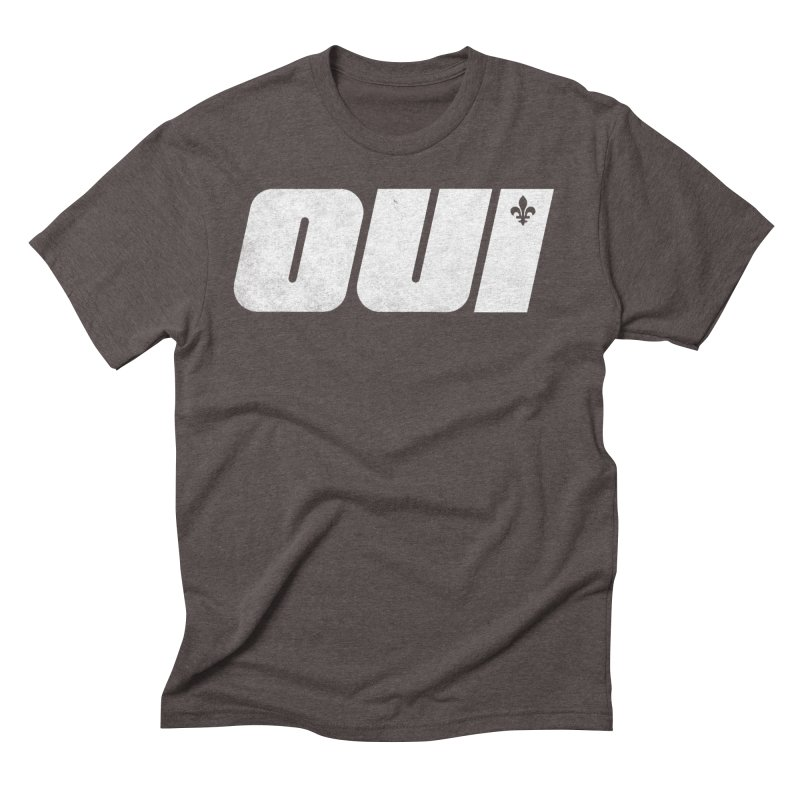 Oui Men's T-Shirt by Chaudaille