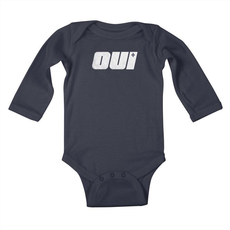 Oui Kids Baby Longsleeve Bodysuit by Chaudaille