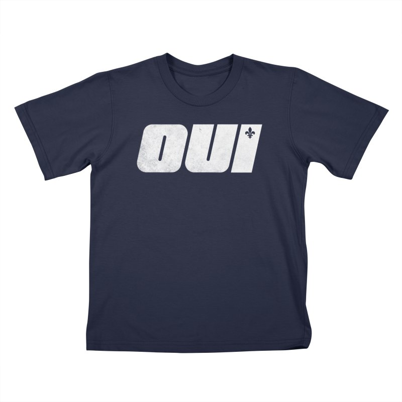 Oui Kids T-Shirt by Chaudaille